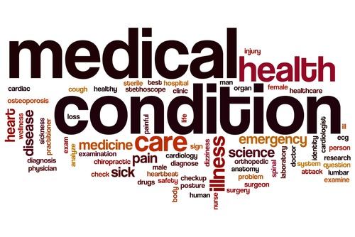 Review categories for medical conditions important to understand